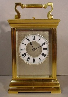 1 - Carriage Clock
