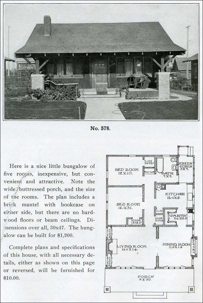 Henry L Wilson The Bungalow Book Bungalow Homes