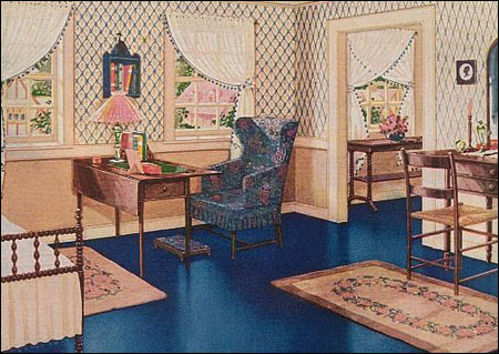 1920s Bedrooms Vintage Decorating Color Amp Finishes