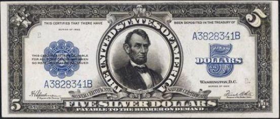 Resultado de imagen para silver dollar bill