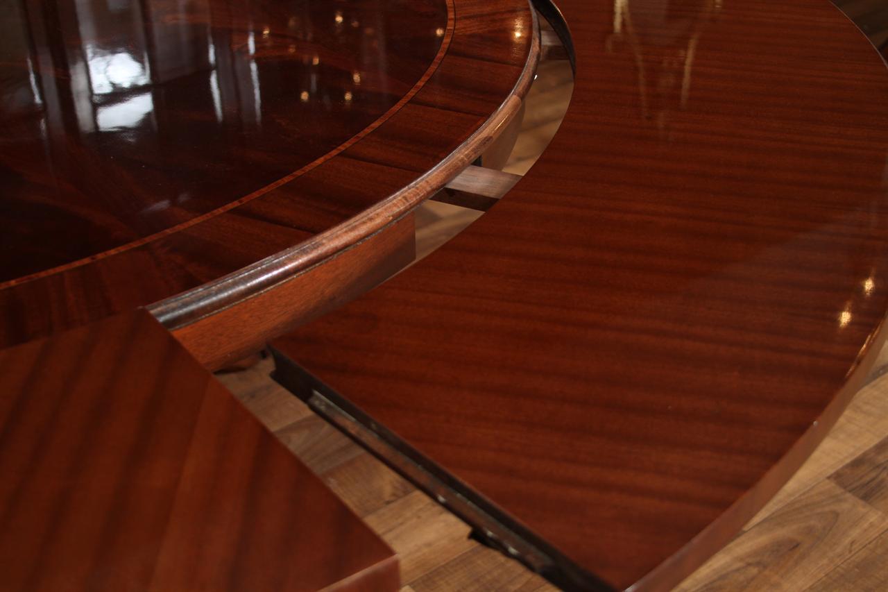 Henredon Dining Room Table Henredon Mahogany Dining Room Table Mahogany Dining Table Splayed