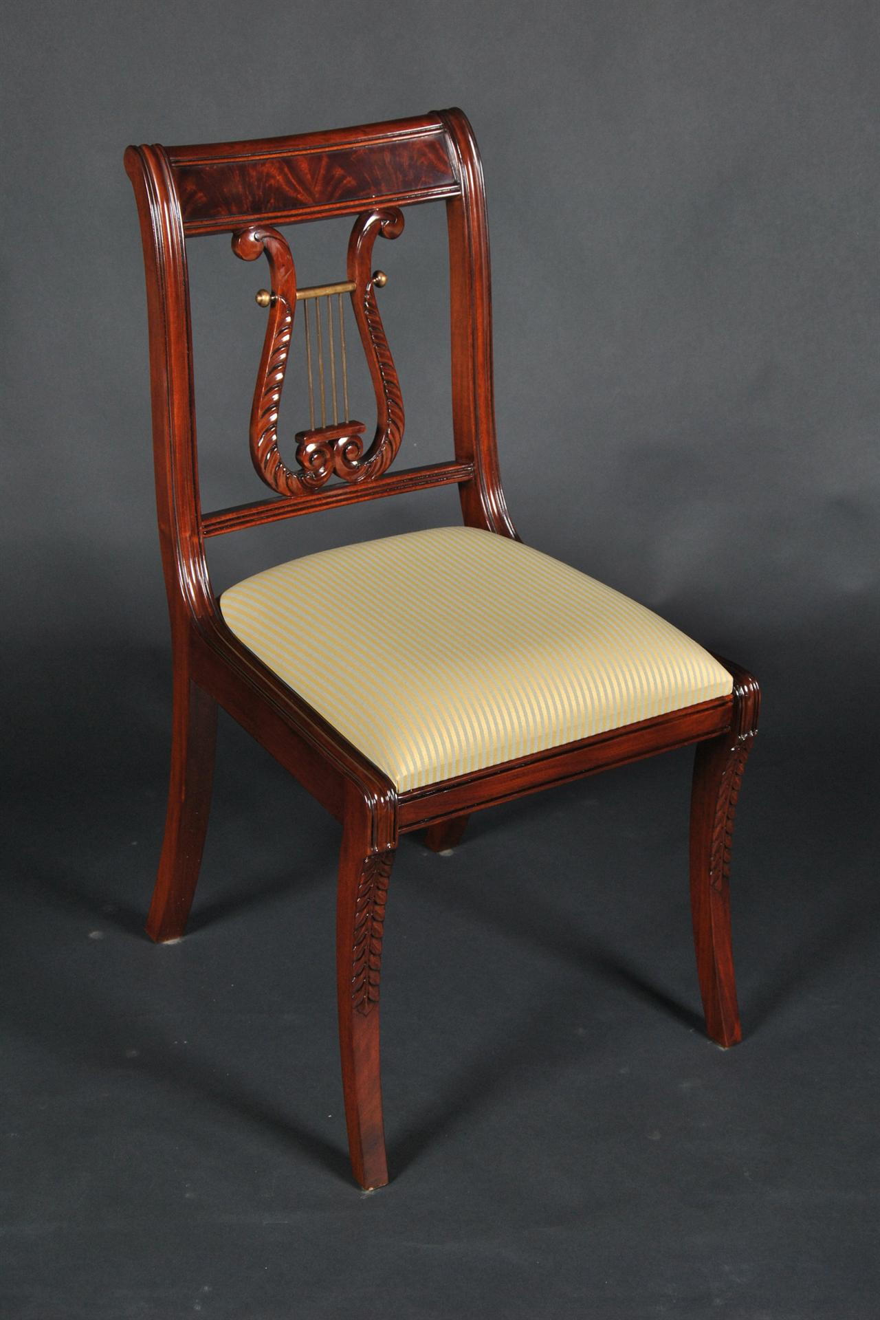 Tremendous Antique Klismos Dining Chairs Klismos Chairs Empire Regency Ncnpc Chair Design For Home Ncnpcorg