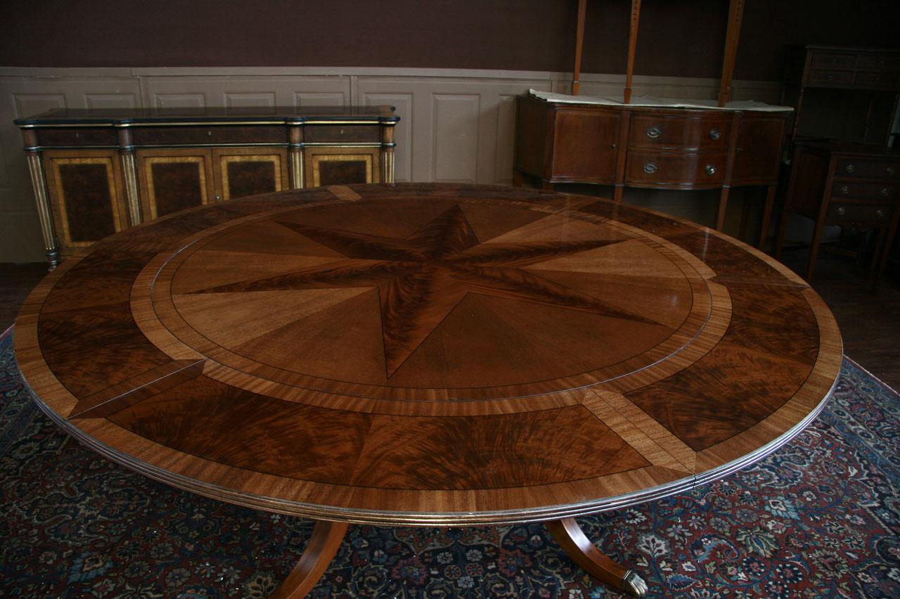 Image Result For Large Round Dining Table Ebay