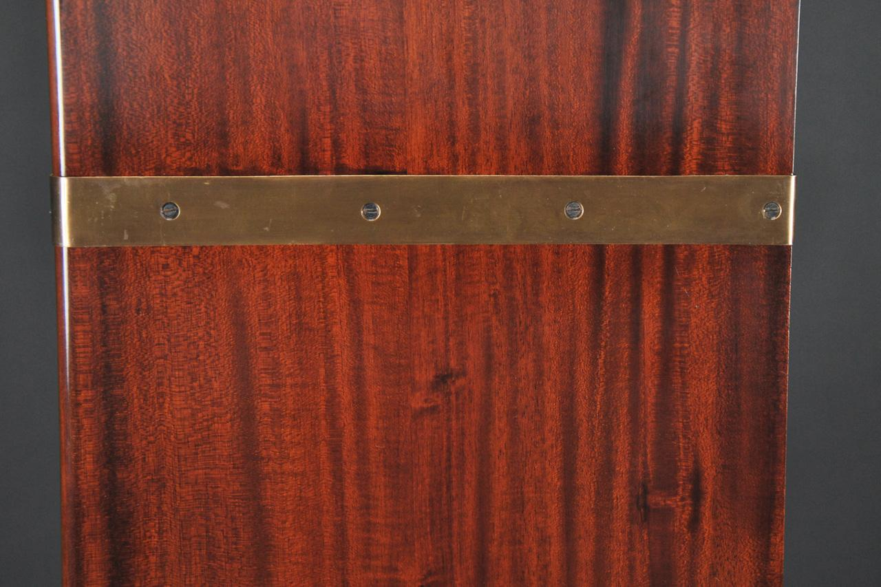 Antique Mahogany Barrister Bookcase