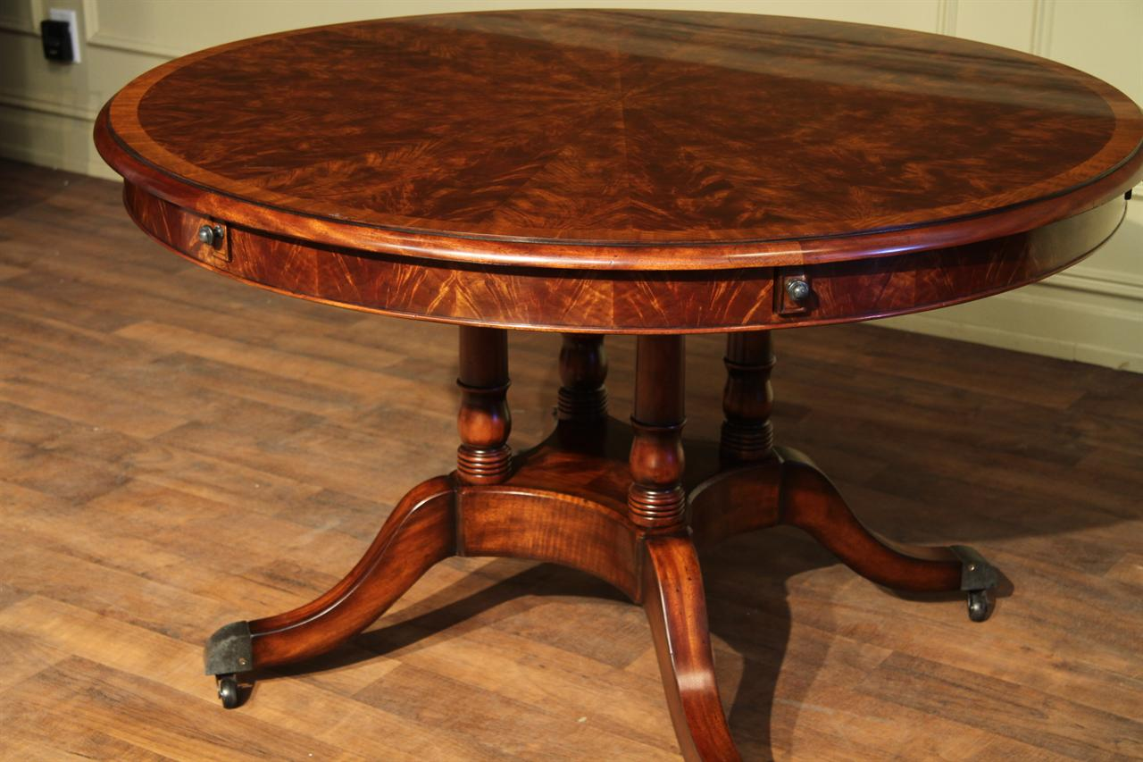 Mahogany Dining Room Table And 8 Chairs