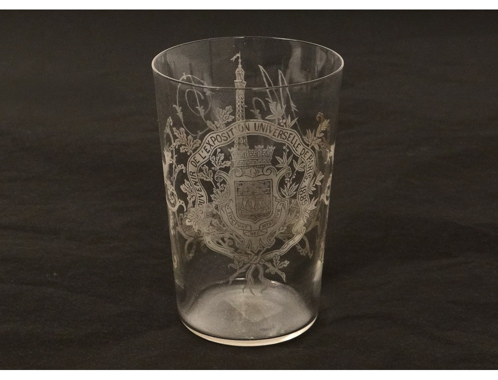 Verre Cristal Saint Louis Exposition Universelle Paris