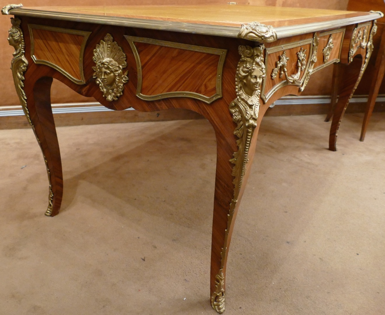 flat top desk 20th century antiques in france