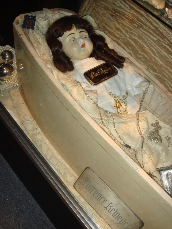 Cemetery Chic Original Old Ghostly Victorian Coffin SKU