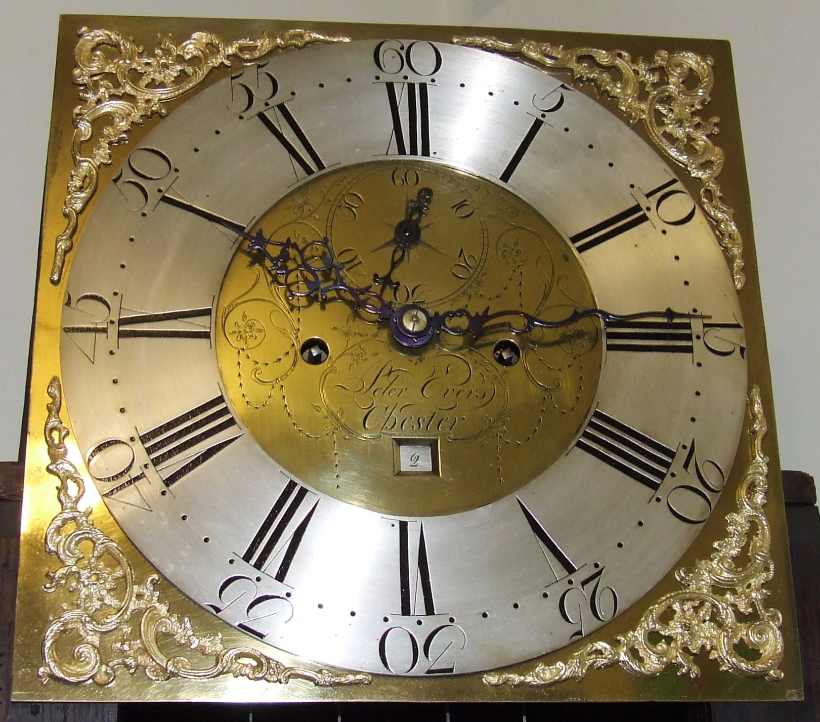 Grandfather Clock S Second Hand Moving Outwards Clocks