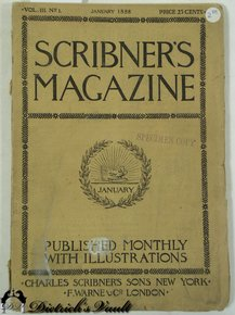 Image result for scribner's magazine january 1888