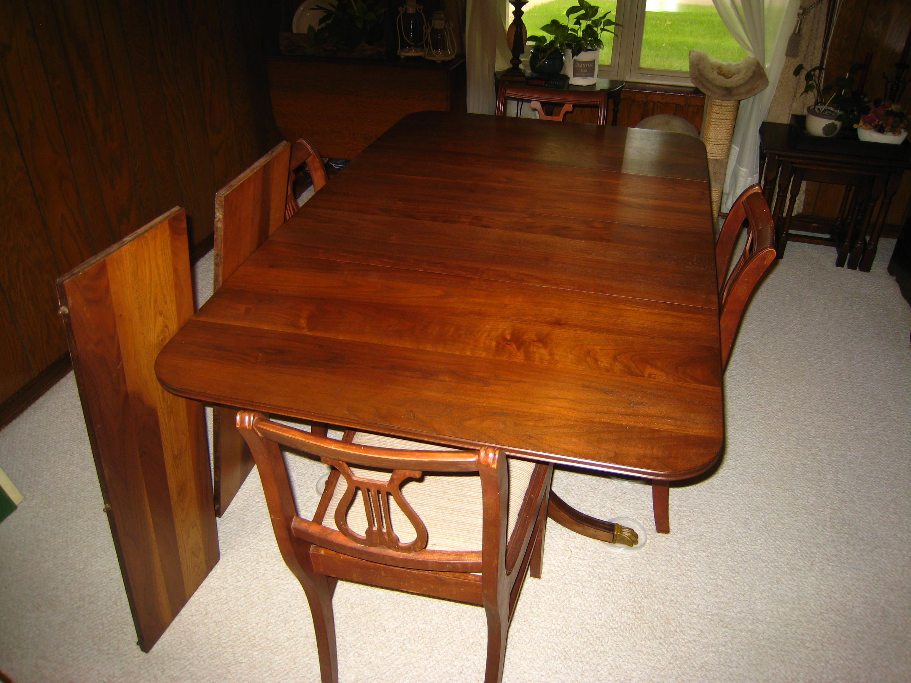 Vintage Drop Leaf Kitchen Table