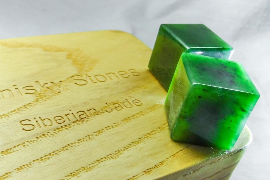 Siberian Nephrite Jade Whiskey Stones