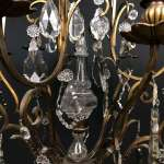 French Bird Cage Chandelier In Antique Chandeliers