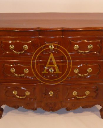 COMMODE EN BOIS FRUITIERS LOUIS XV
