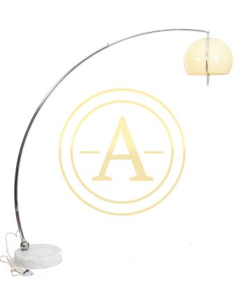 LAMPADAIRE ARC EN METAL CHROME