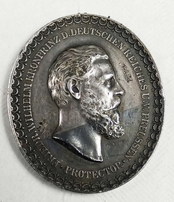 Berlin 1880 International Fisheries Exhibition Medal