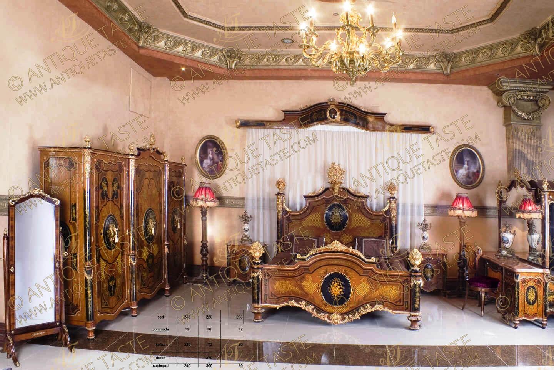 Antique Taste Luxury Ormolu And Marquetry Antique