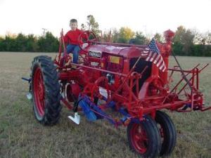 1938 Farmall F20 With Cultivators Antique Tractor