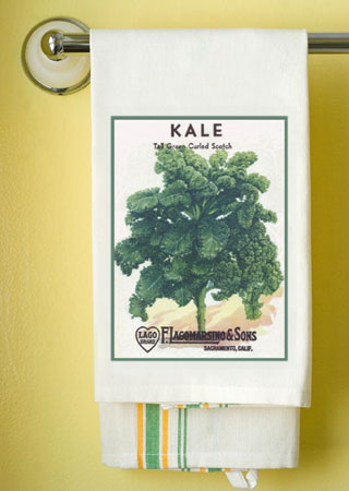 Kale Towel