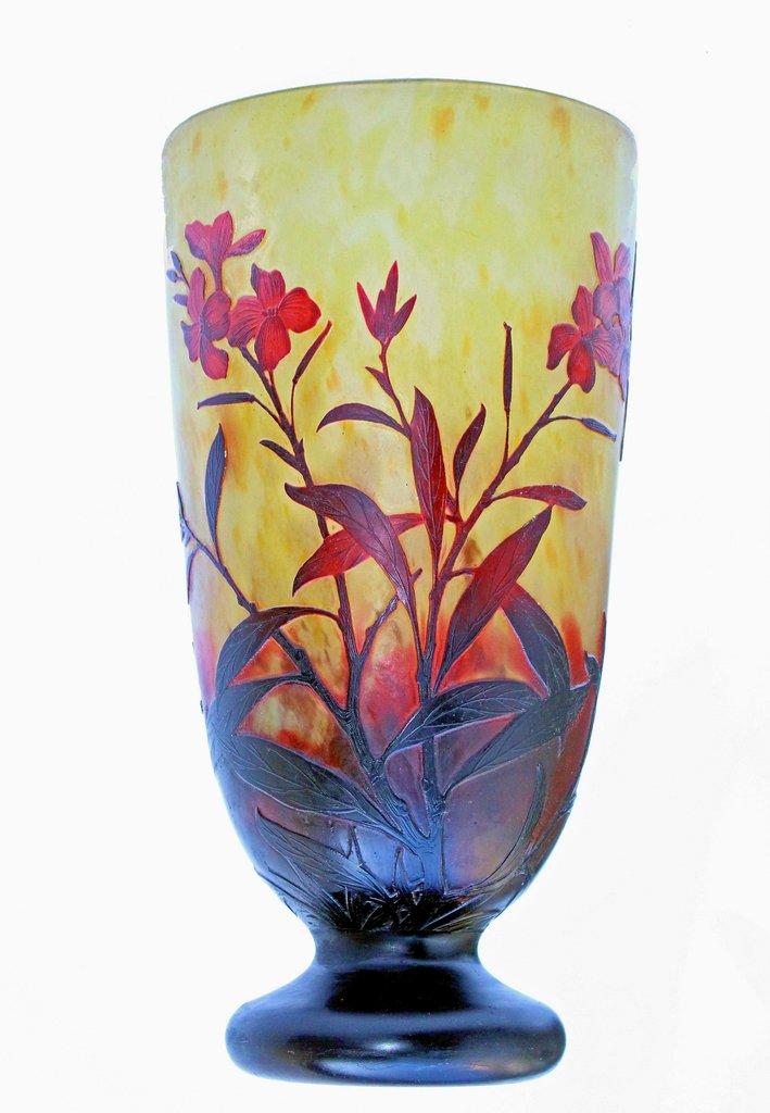 Vase Daum Nancy France Antiquites En France