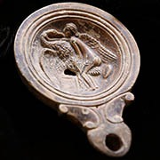 Ancient Greek Gold Repoussé Pendant