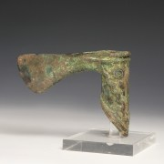Elamite Axe with Snake Decoration