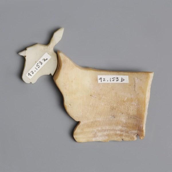 Sumerian Shell Plaque Sheep