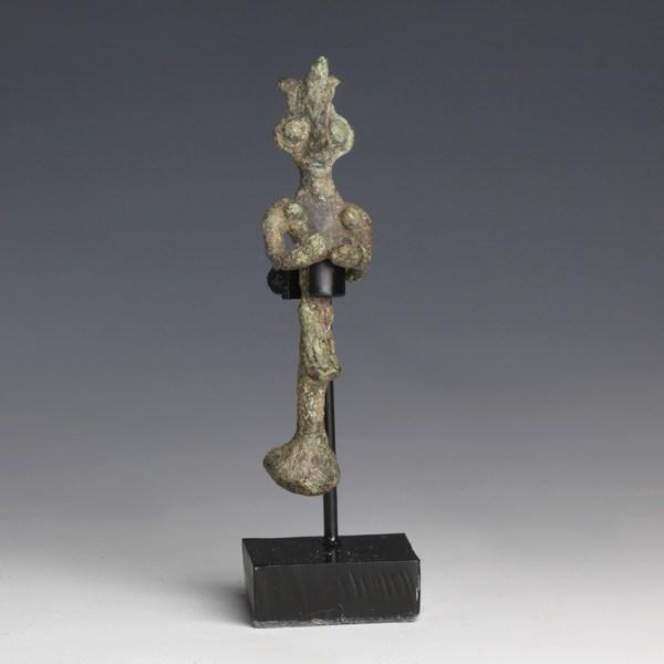 Syro-Hittite Bronze Female Idol