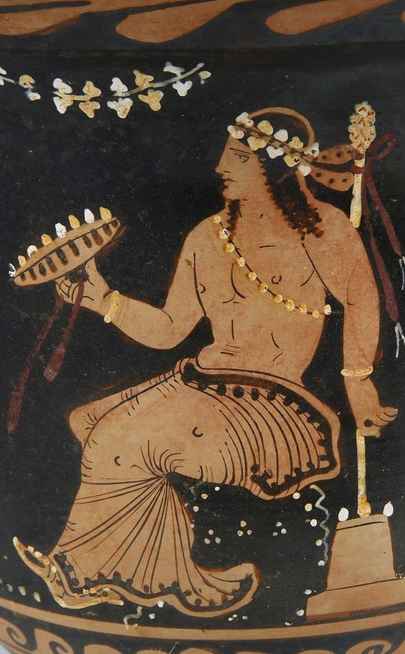The Greek god Dionysus