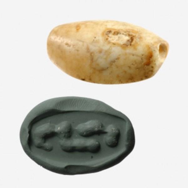 Prehistoric Stone Stamp Seal
