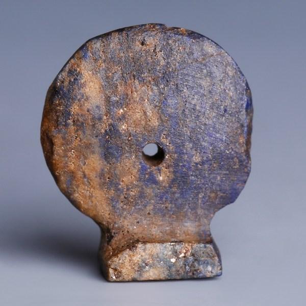 Egyptian Lapis Lazuli Sun-Disc