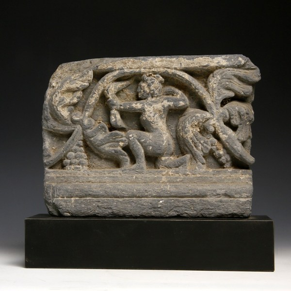 Gandharan Stone Panel with Archer