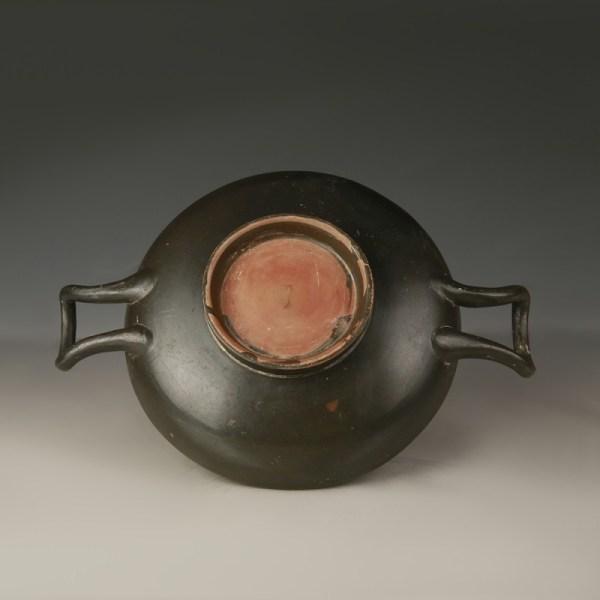 Greek Blackware Terracotta Kylix