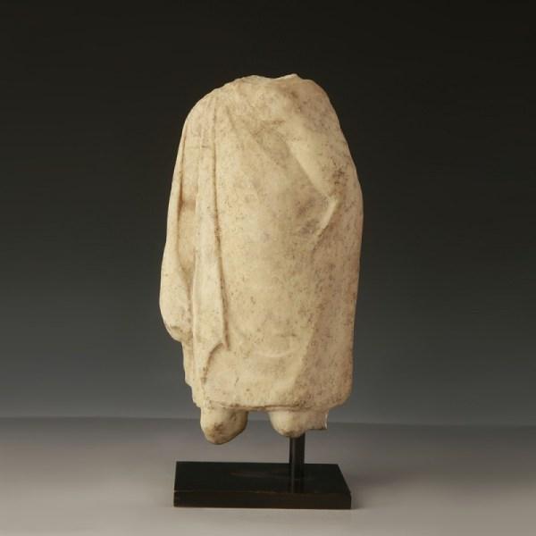 Greek Youth Wearing a Cloak