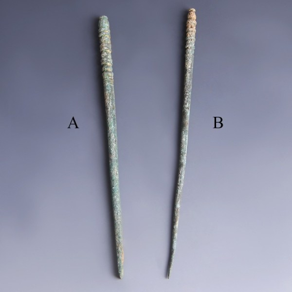 Luristan Bronze Dress Pins