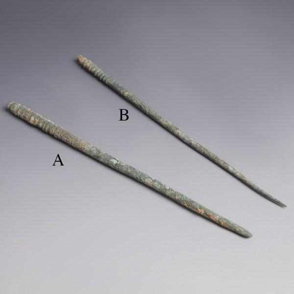 Luristan Bronze Dress Pins
