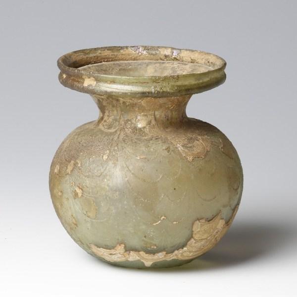 Roman Rare Provenanced Glass Jar