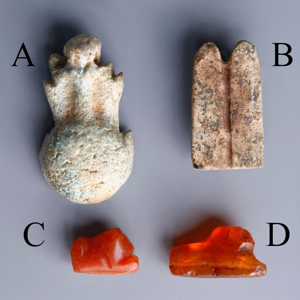 Selection Of Egyptian Small Amulets