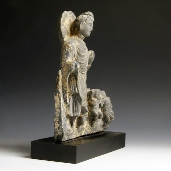 Gandhara Sculpture of Buddha Shakyamuni