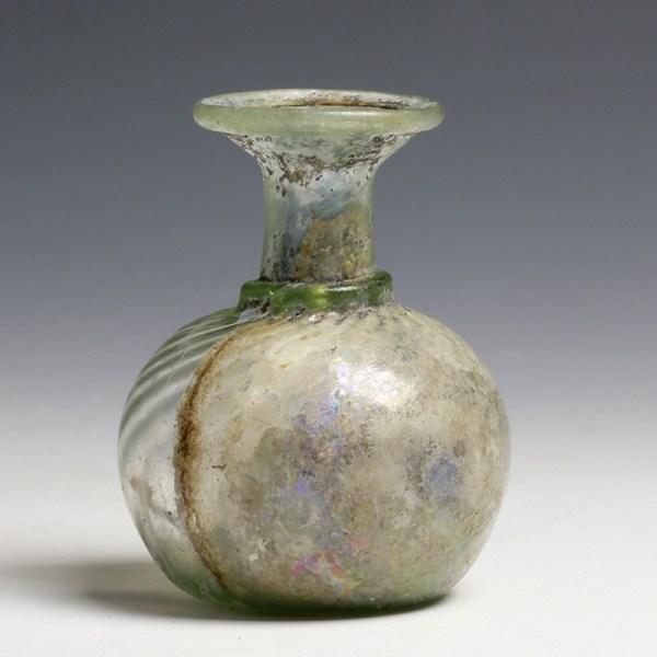 Roman Glass Sprinkler Flask
