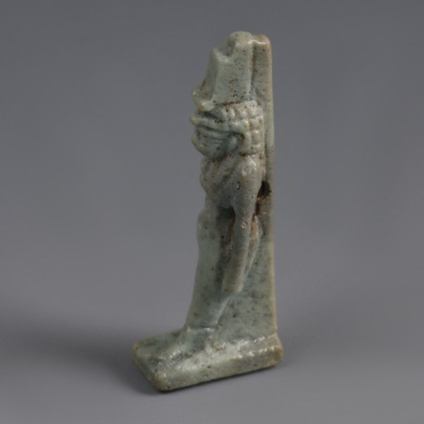Egyptian Faience Isis Amulet