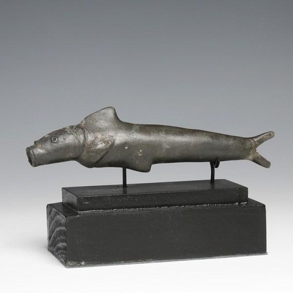 Rare Roman Bronze Fish