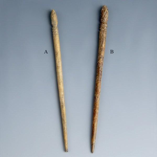 Larger Roman Bone Hair Pins
