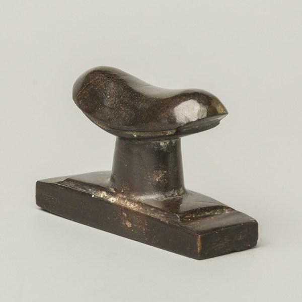 Egyptian Miniature Obsidian Headrest