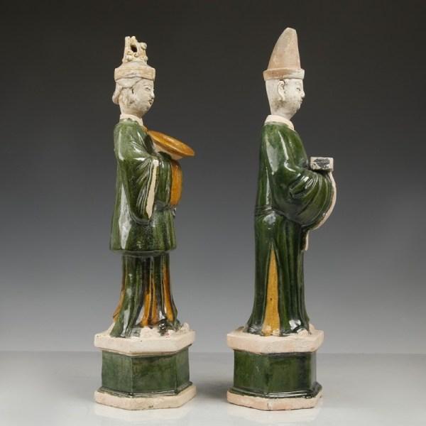 Ming Dynasty Sancai Glazed Offerants