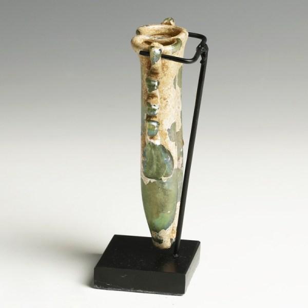 Roman Glass Double Balsamarium