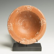 Roman Redware Bowl with Panthers