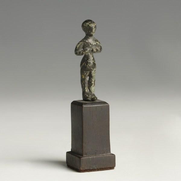 Celtiberian Bronze Votive Figure
