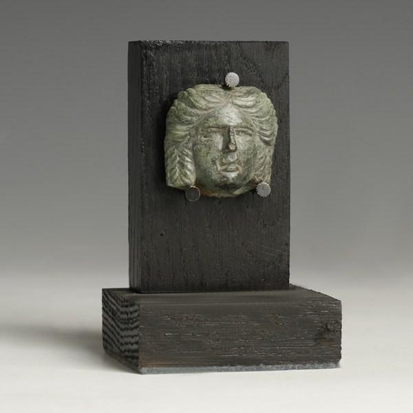Roman Bronze God Appliqué