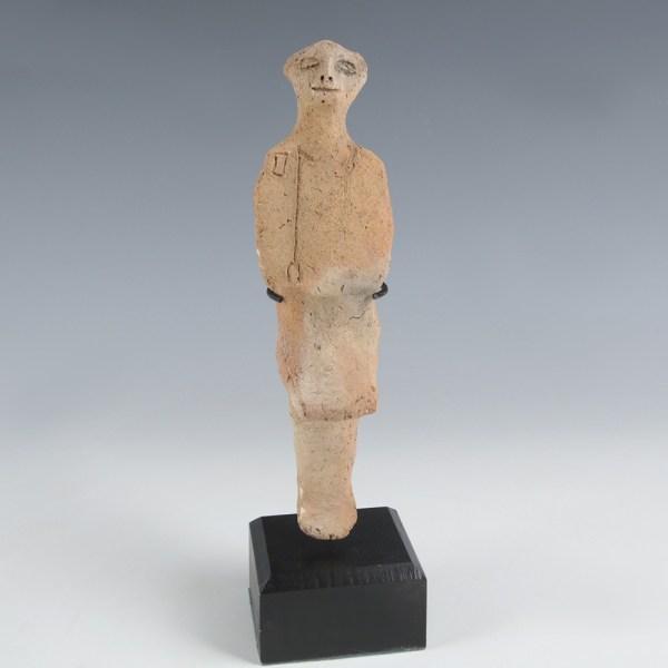 Egyptian Terracotta Shabti Overseer